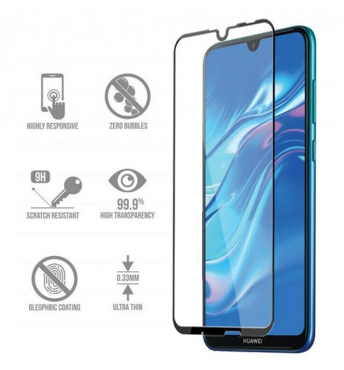 Huawei Y6s Full Screen Tempered Glass Screen Protector Film