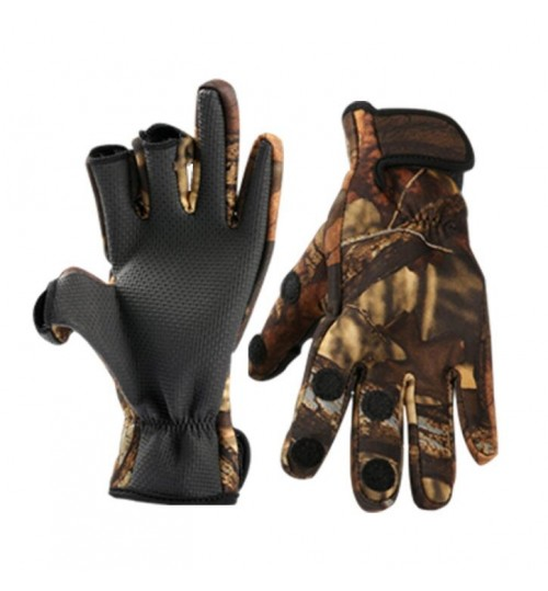 Fishing Gloves - L SIZE