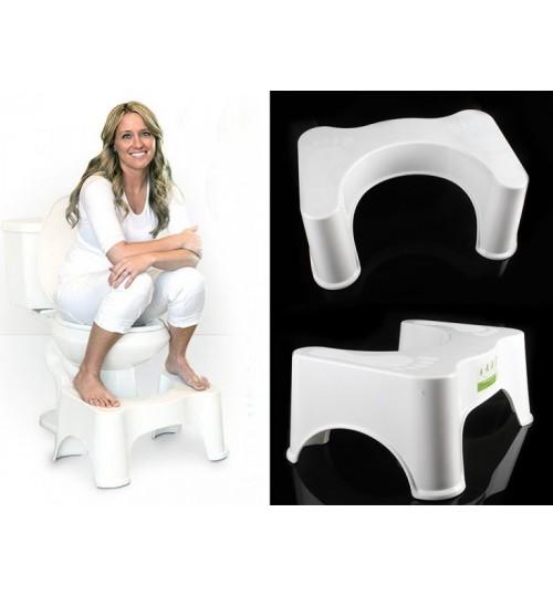 Strong Plastic Bathroom Toilet Potty Stool