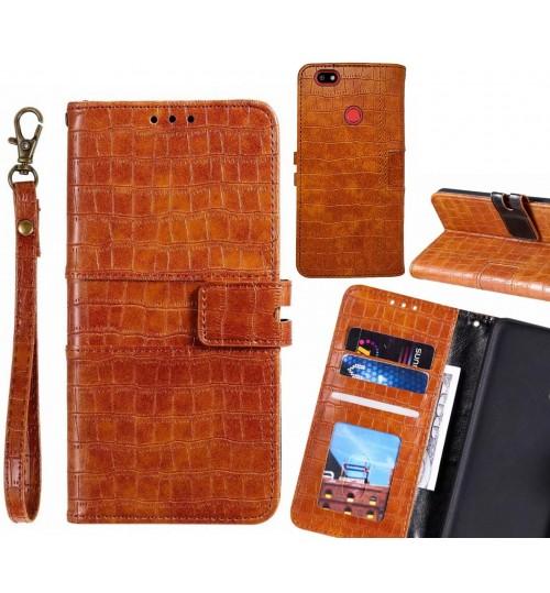 SPARK PLUS case croco wallet Leather case