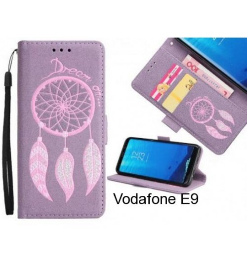Vodafone E9  case Dream Cather Leather Wallet cover case