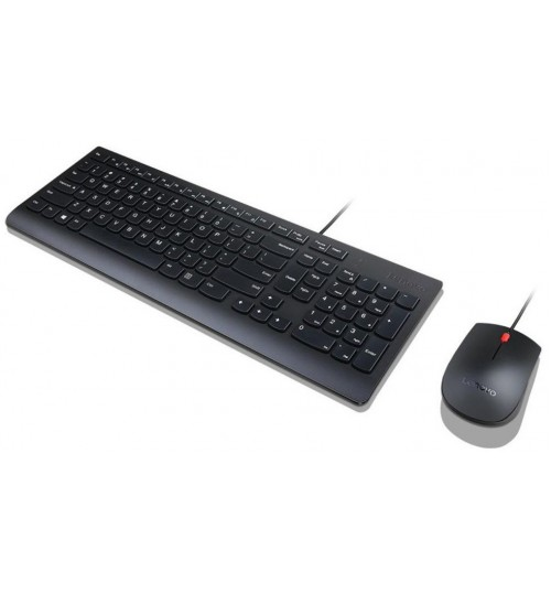 Lenovo Essential Wired Keyboard and Mouse Combo - US English