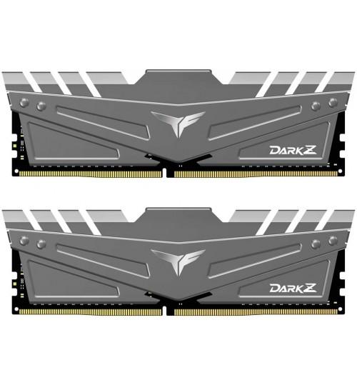 Team T-Force Dark Z 16GB (2x8GB) 3200MHz CL16 DDR4 Grey