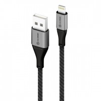 ALOGIC SUPER ULTRA USB 2.0 USB-C TO USB-C CABLE - 1.5M -5A/480MBPS -SPACE GREY
