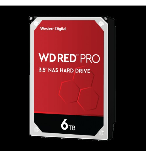 WD RED PRO 6TB SATA3 128MB CACHE FOR NAS