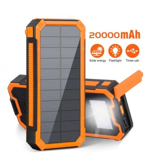 Solar Power Bank Portable