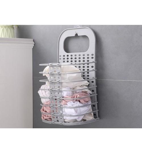 Clothing Storage Basket Folding Laundry Basket