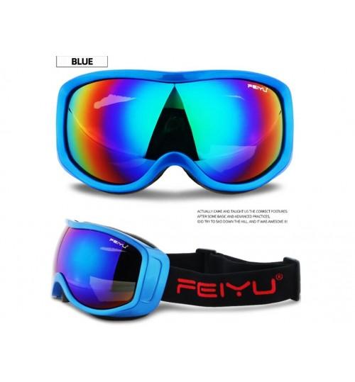 Ski Goggles UV400 Anti-fog Skiing Goggles ADULTS
