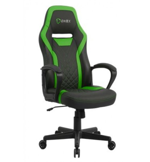 ONEX GX1 Series Office/Gaming Chair - Black/Green