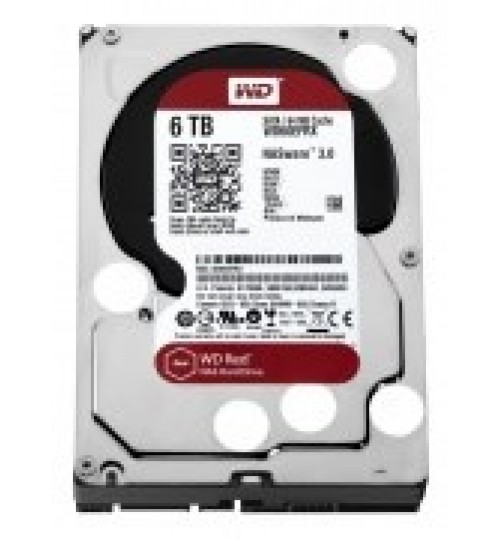 WD RED 6TB SATA3 64MB CACHE FOR NAS