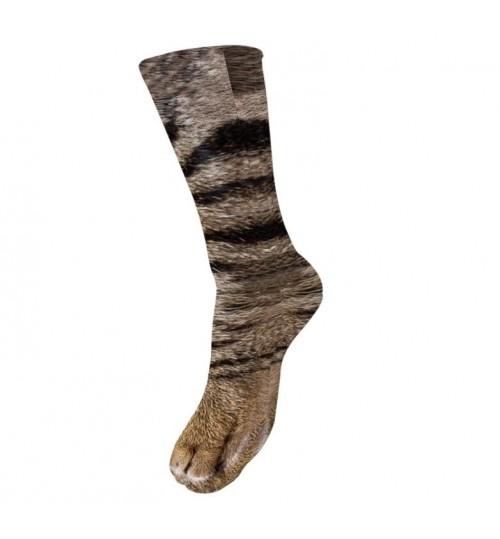 Adult Cat Paw Sock 3D Print