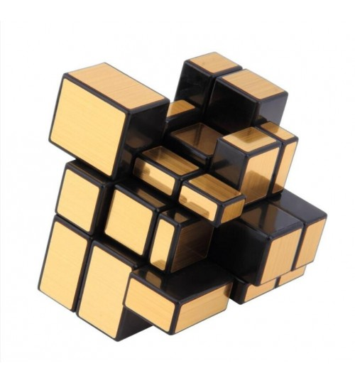 Rubiks Cube 3x3 Gold Mirror Magic Cube