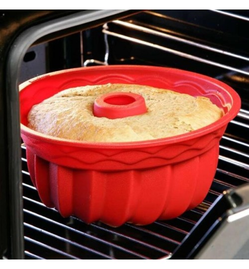 Cake Mold Silicone Mold Non-stick Silicone Cake Mold Round Toast Mould