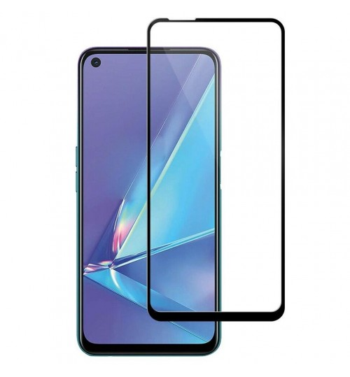Oppo A72 Tempered Glass FULL  Screen Protector