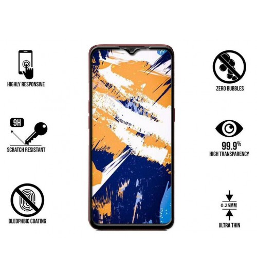 Oppo A91 Full Screen Tempered Glass Screen Protector Film