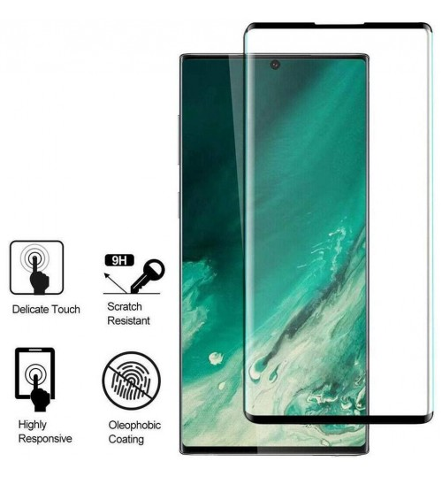 Galaxy Note 20 FULL Screen covered Tempered Glass Screen Protector