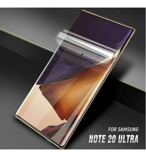 Galaxy Note 20 Ultra Screen Protector Hydrogel FULL COVER Soft Film
