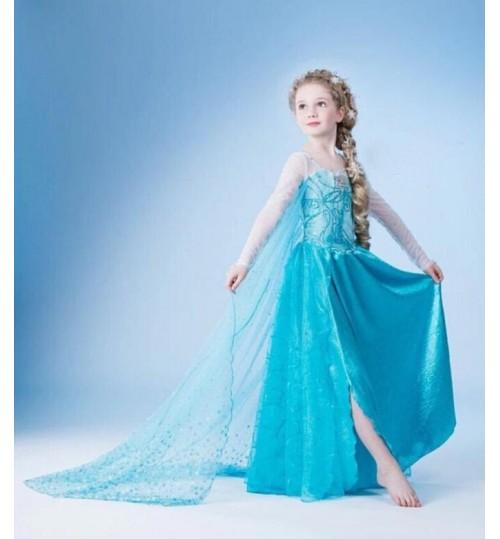 Elsa Dress Frozen Elsa Dress 130 CM