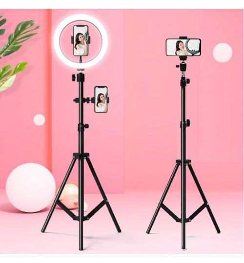 Phone Tripod Stand Selfie LED Fill Light