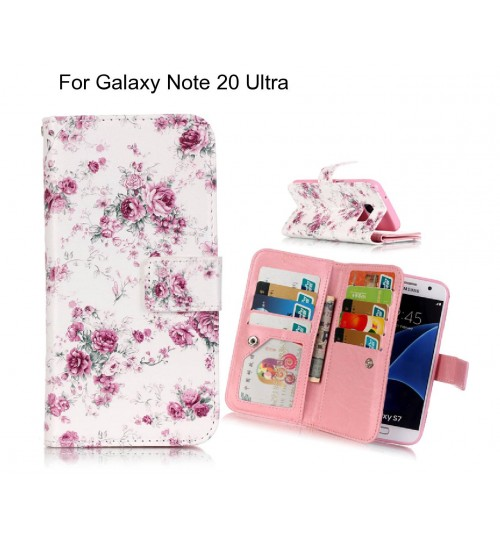Galaxy Note 20 Ultra case Multifunction wallet leather case