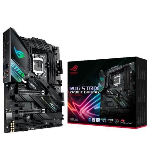 ASUS ROG STRIX Z490-F GAMING INTEL Z490 (LGA 1200) ATX 4XDDR4-4800 MHz PCI-E3.0 USB3.2 M.2 RAID HDMI/DISPLAY PORT