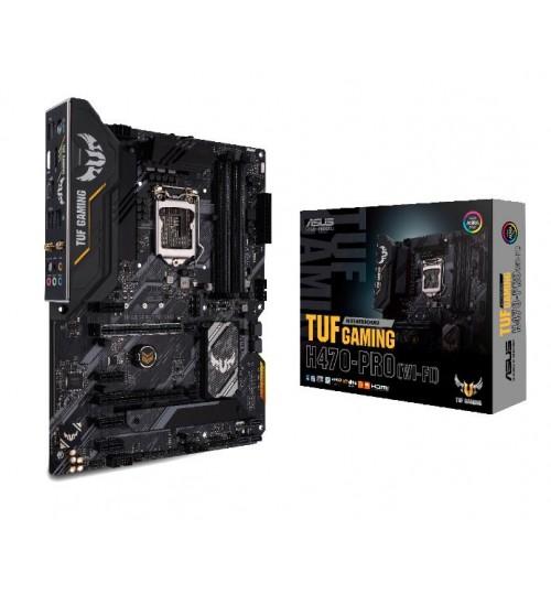 ASUS TUF GAMING H470-PRO (WI-FI) INTEL H470 (LGA 1200) ATX 4XDDR4-2933 MHz PCI-E3.0 USB3.2 M.2 RAID HDMI/DISPLAY PORT