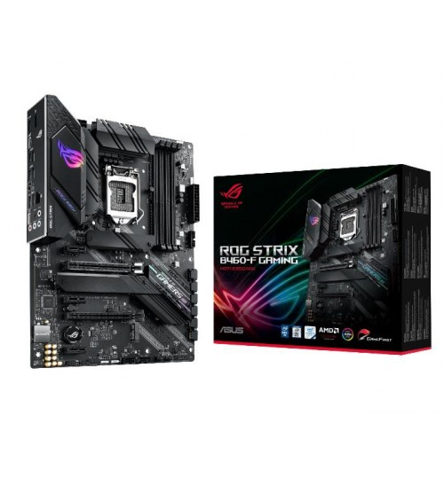 ASUS ROG STRIX B460-F GAMING INTEL B460 (LGA 1200) ATX 4XDDR4-2933 MHz PCI-E3.0 USB3.2 M.2 RAID HDMI/DISPLAY PORT