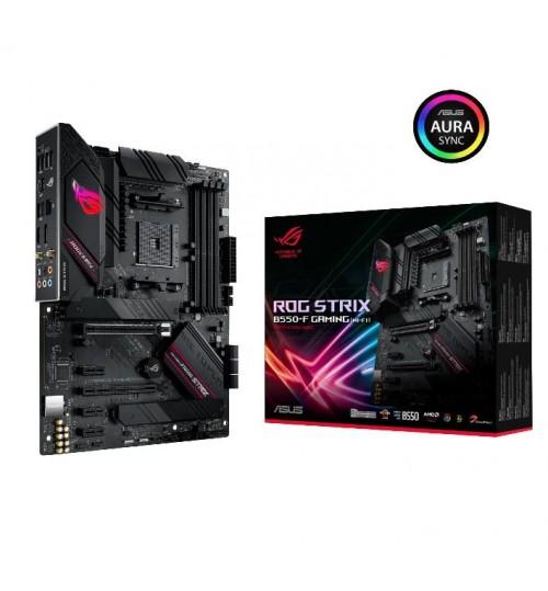 ASUS ROG STRIX B550-F GAMING(WI-FI) AMD B550 ATX 4XDDR4-4600 PCI-E4.0 SATA3 M.2 RAID HDMI DISPLAY PORTS
