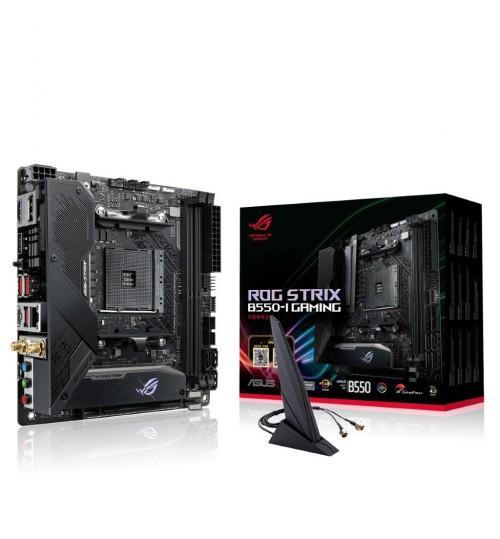 ASUS ROG STRIX B550-I GAMING AMD B550 MINI-ITX 2XDDR4 PCI-E4.0 SATA3 M.2 HDMI DISPLAY PORT