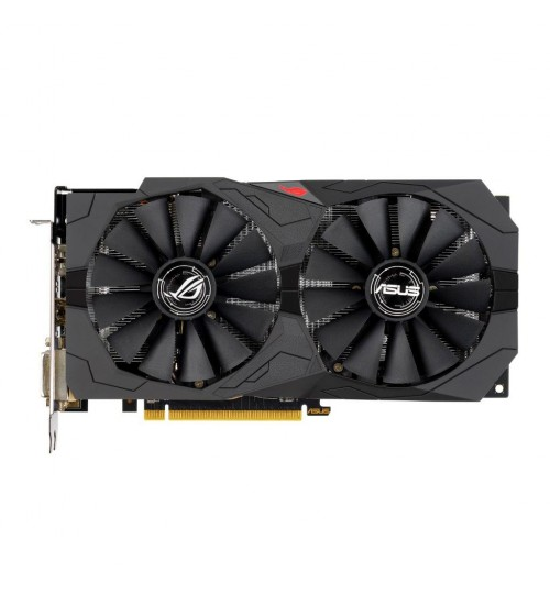 ASUS ROG-STRIX-RX570-O8G-GAMING STRIX AMD RADEON RX570 OVERCLOCKED 8GB GDDR5 PCI-E3.0 DVI-D HDMI DISPLAY PORT