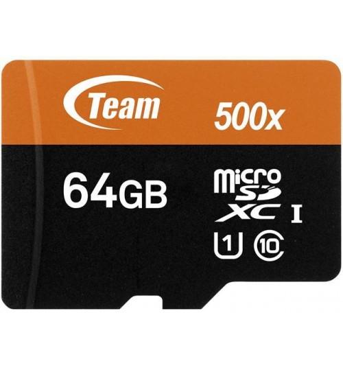 TEAM 64GB MICROSDXC UHS-I/U1 CLASS 10