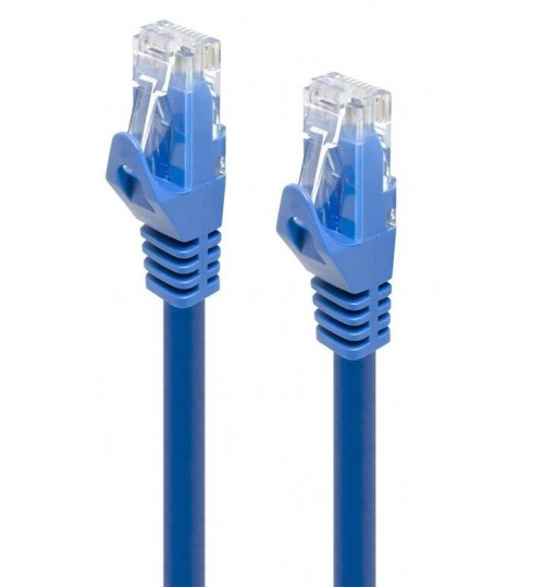 ALOGIC 5m Blue Snagless CAT6 network Cable (Premium Retail Packagaing)