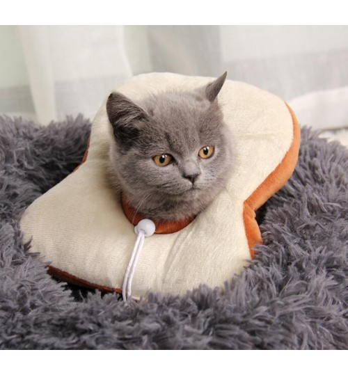 Pet Dogs Cats Collar Headgear