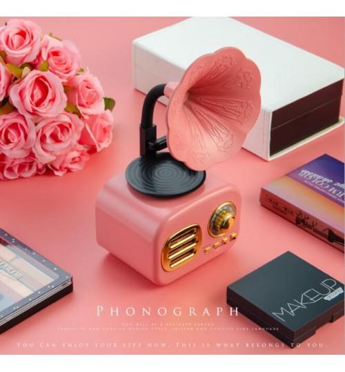 Retro Music Box Phonograph‑Shaped Gift Home Desktop