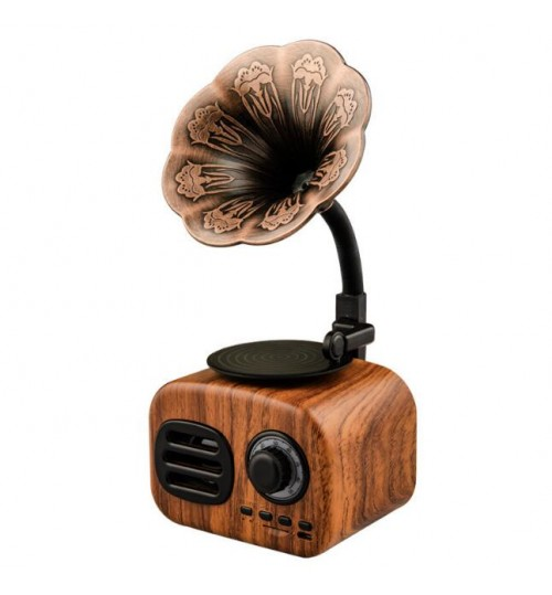 Retro Music Box Phonograph‑Shaped Gift Home Desktop
