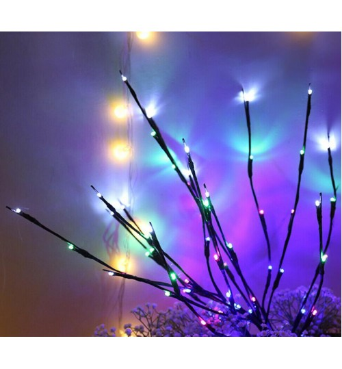LED Tree Branch Warm Light Fairy Lamp Christmas Home Party Decor