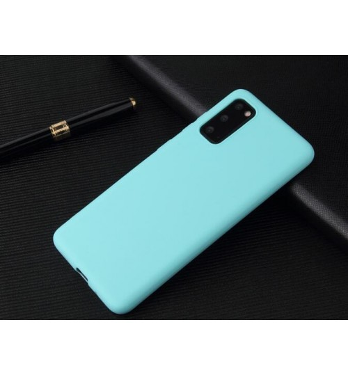 Galaxy S20 Case slim fit TPU Soft Gel Case