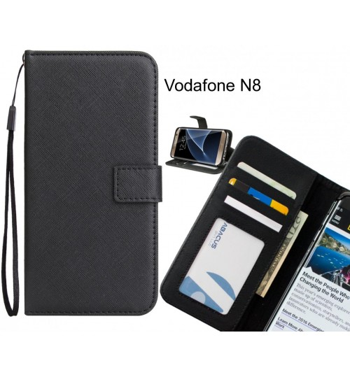 Vodafone N8 Case Wallet Leather ID Card Case