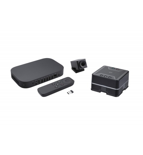 ASUS GQE10A-B7014UN GOOGLE MEET HARDWARE STARTER KIT I7-8550U 4GB 32GB SSD REMOTE CONTROLLER SPEAKER MIC 4K CAMERA CHROME OS (HMH LICENSE REQUIRED)