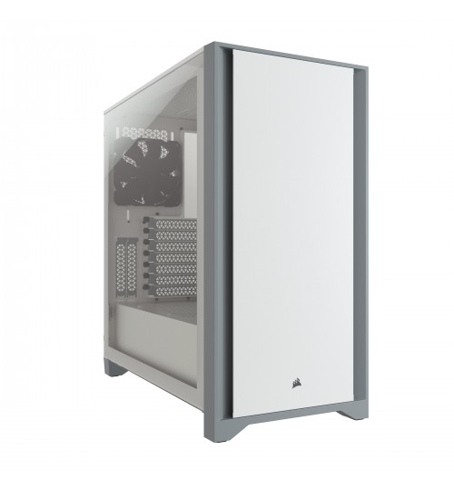 CORSAIR 4000D TEMPERED GLASS MID-TOWER - WHITE