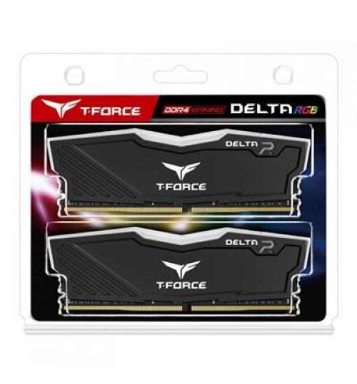 TEAM T-FORCE DELTA RGB 16 GB 2 x 8 GB DDR4 2666 GAMING MEMORY