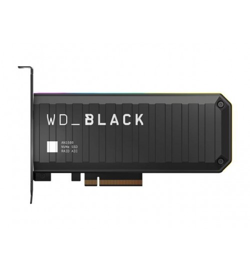 WD BACK AN1500 2TB NVMe PCIE RGB ADD-IN CARD SSD R/W 6500/4100 MB/s