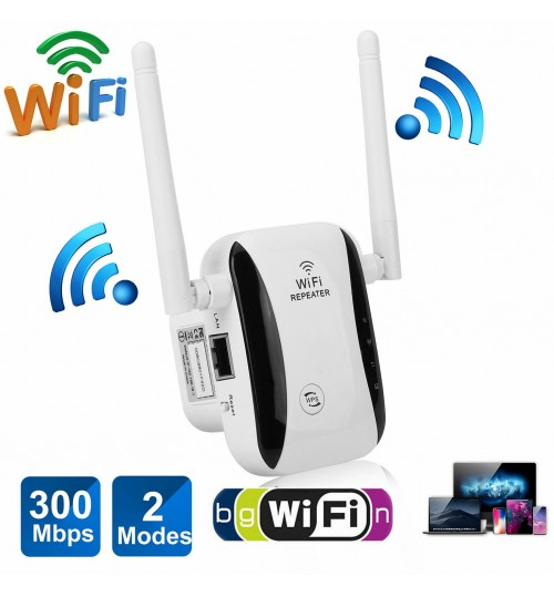 WiFi Extender Repeater Booster 300Mbps