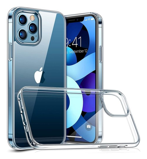 iPhone 12 Pro Case Clear Gel Soft Case