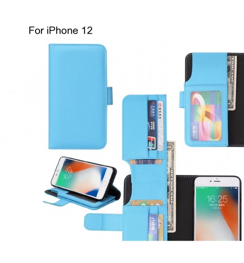 iPhone 12 case Leather Wallet Case Cover