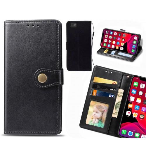 HUAWEI P8 LITE Case Premium Leather ID Wallet Case