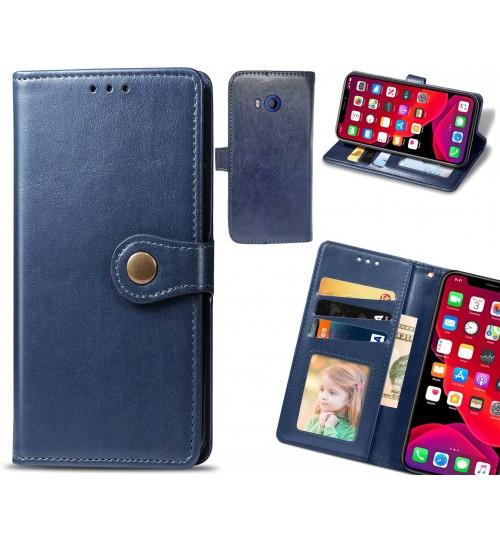 HTC U11 Case Premium Leather ID Wallet Case