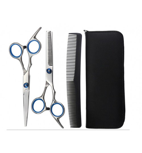 Stainless Steel Cutting Thinning Styling Hair Scissors Set