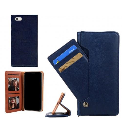 iPhone 6S Plus case flip leather wallet case 6 card slots