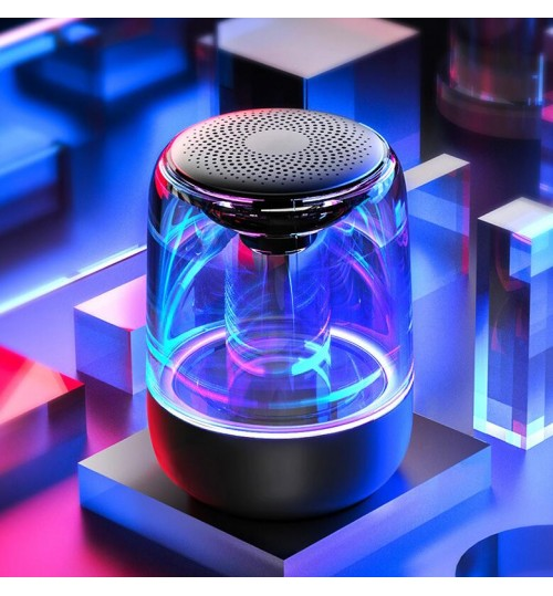 C7 Transparent Luminous LED Bluetooth 5.0 Speaker